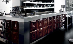 Banco bar Gallery, design all'avanguardia per l'arredo