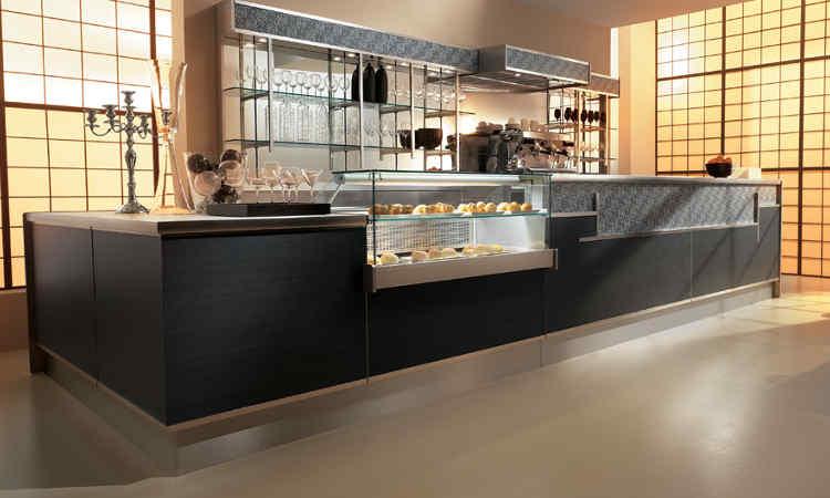 Banco bar elegante modello Shangay