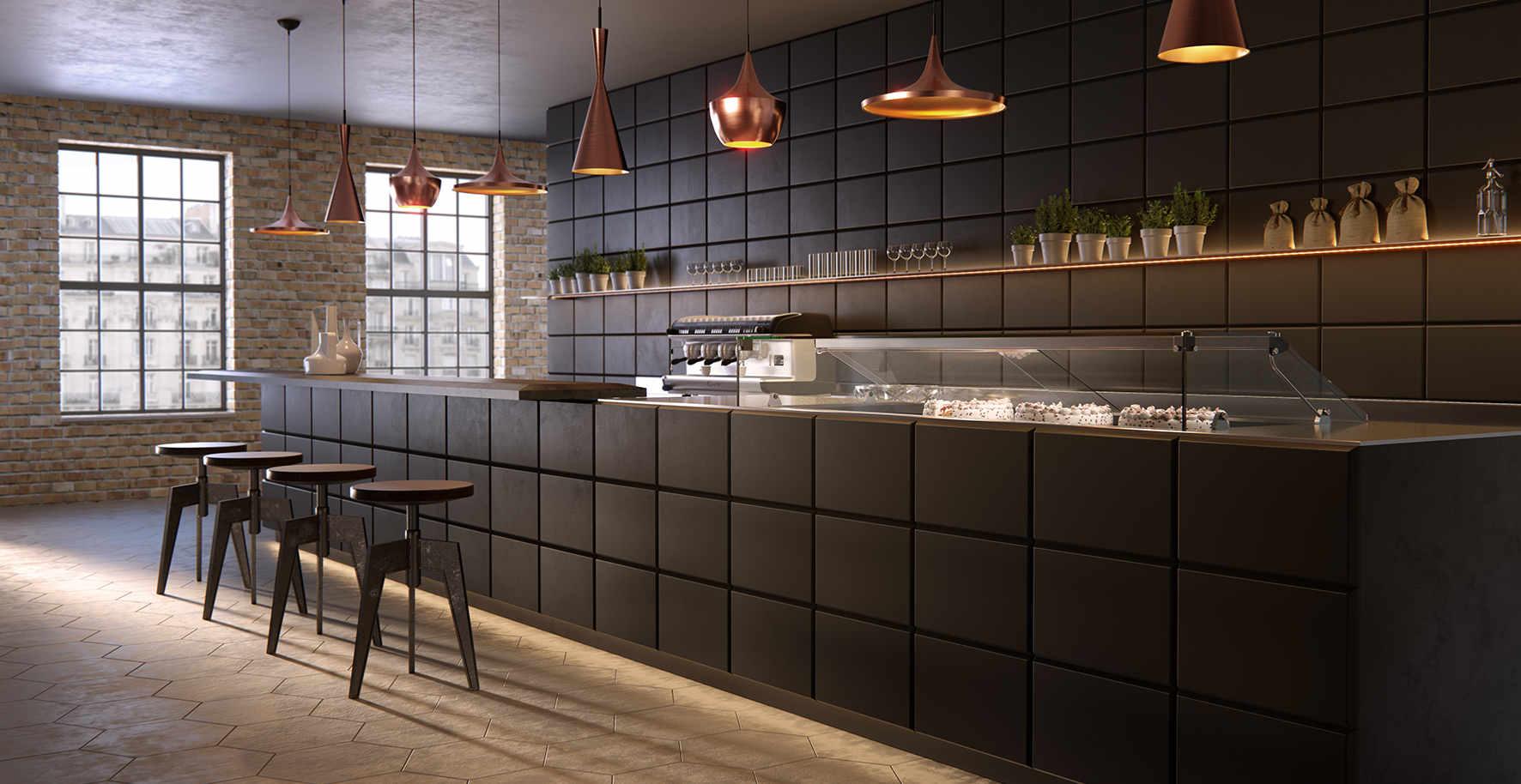 Arredi Bar Moderni banco bar tabula rasa per un arredo completo | arredo bar