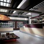 Banco bar elegante e moderno modello Shangay