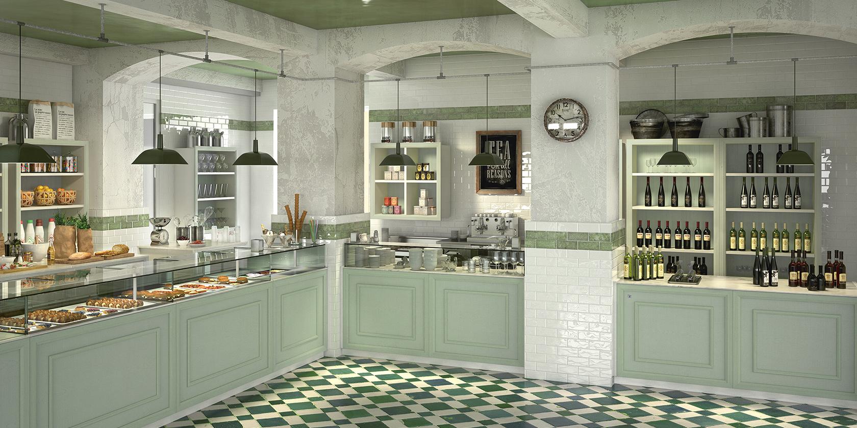 Arredamento bar shabby chic ae27 regardsdefemmes for Arredamento gastronomia
