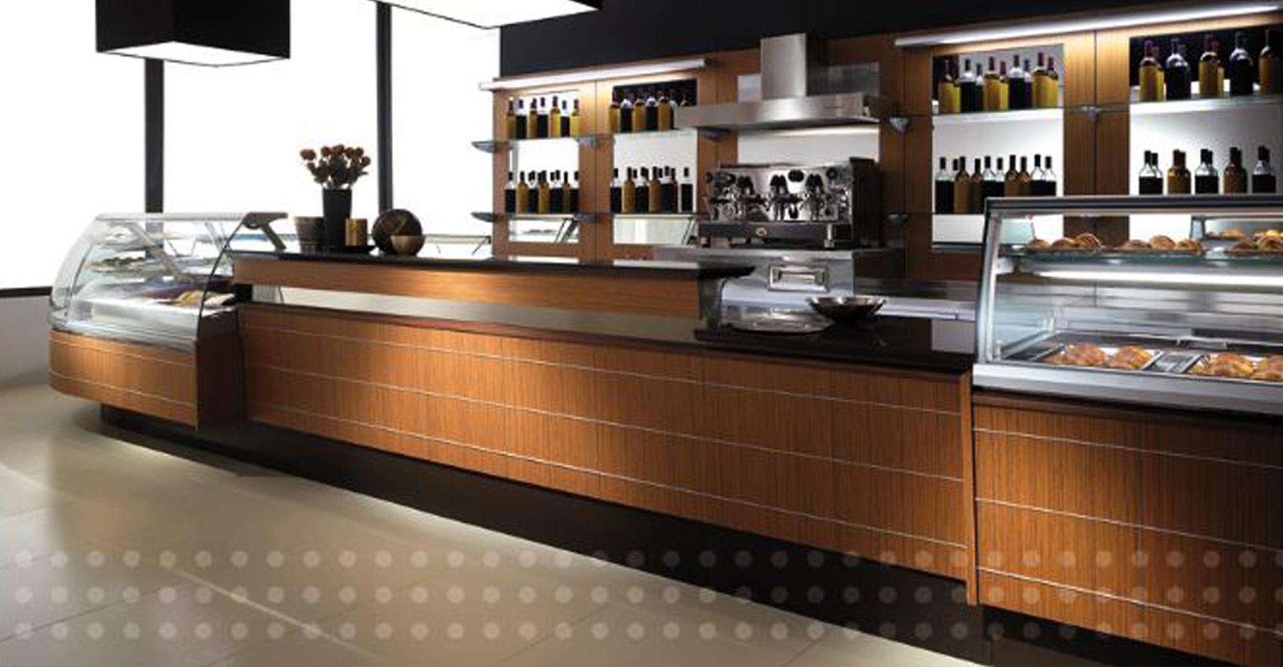 Arredamento Bar Legno.Banco Bar Rivestito In Legno Wenge Teak Serie Classic