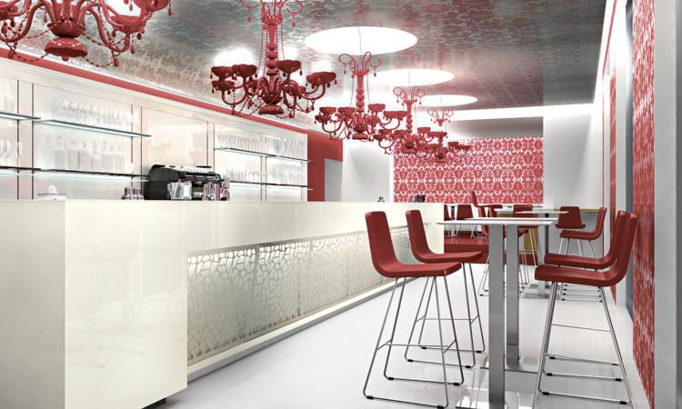 Banco bar semplice e raffinato modello #032