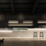 Banco bar con modulo self-service Business bar