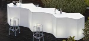 Bancone da bar per esterno modello Iceberg