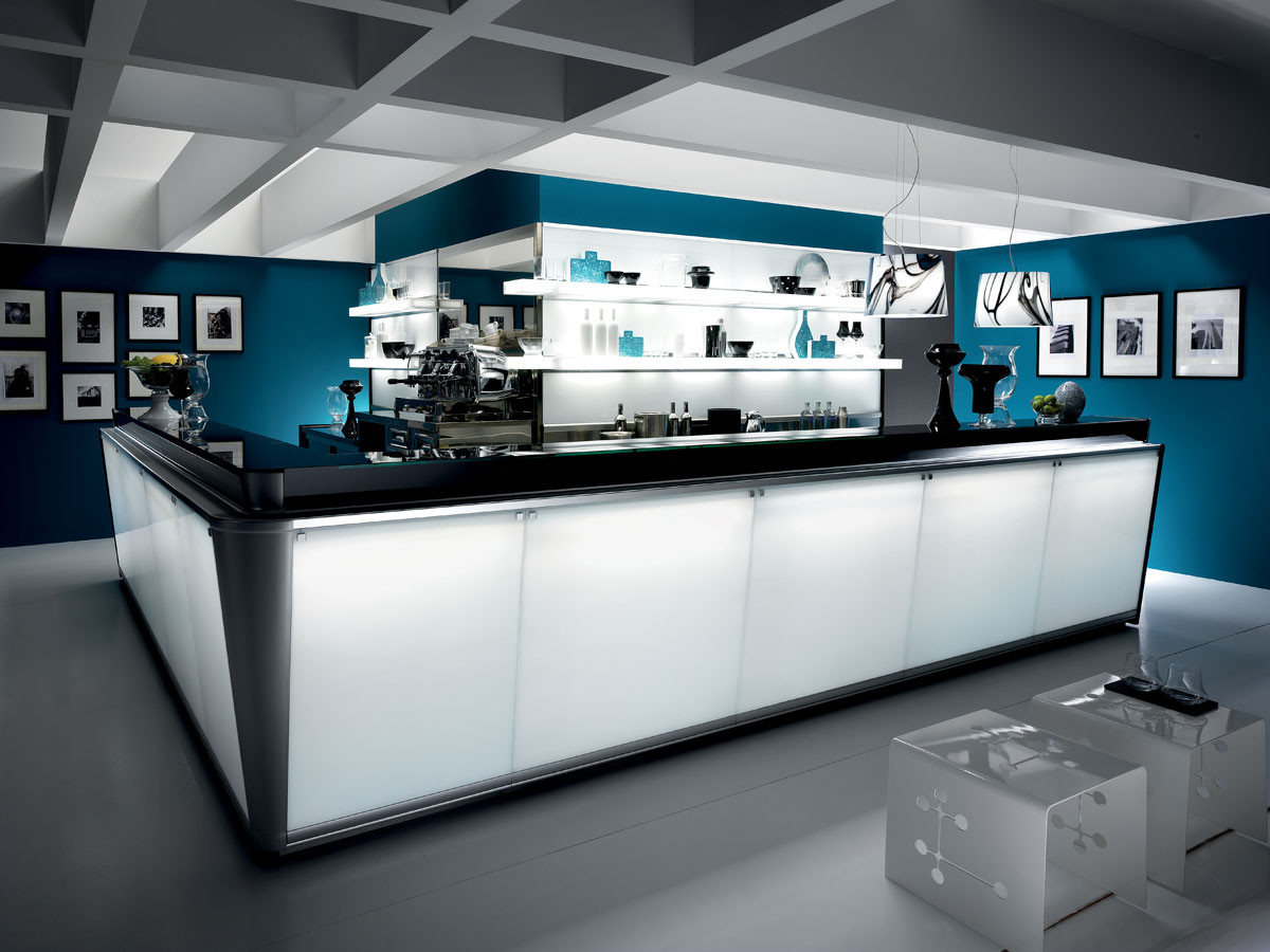 Banco bar moderno ed elegante serie zerodieci dbanchibar for Banco bar moderno