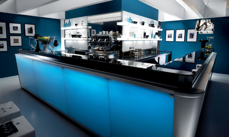 Banco bar moderno ed elegante serie zerodieci
