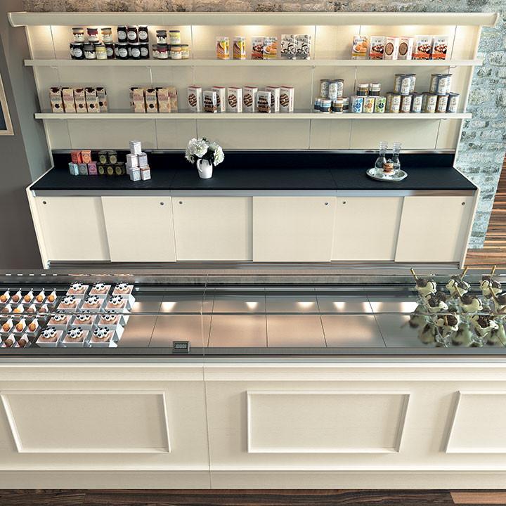 Banco bar trinidad per pasticceria gelateria e bar for Banco bar moderno