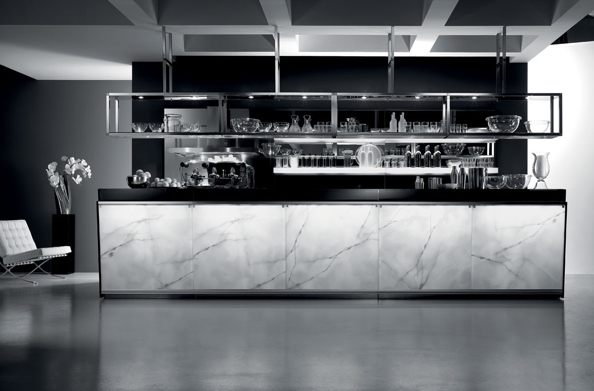 Banco bar moderno ed elegante serie zerodieci dbanchibar for Arredo bar design