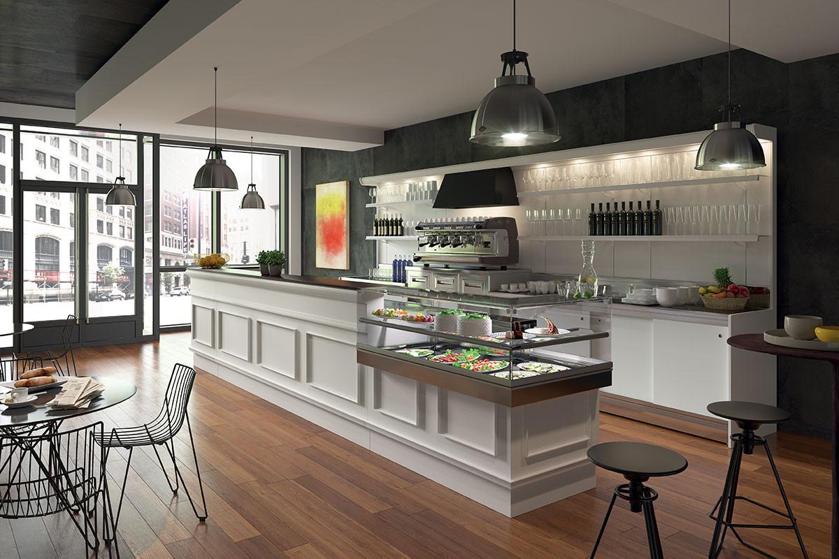Banco bar trinidad per pasticceria gelateria e bar for Bar arredamento