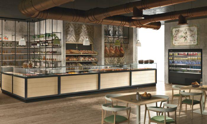 Banco gastronomia Bakery per Take away