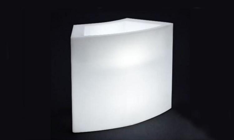 Modulo luminoso Ice Bar per l'esterno