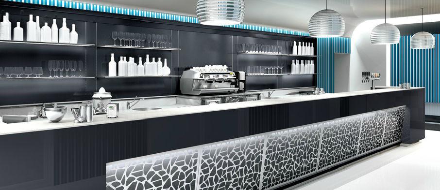 Come fatto un banco bar eccocvi le parti fondamentali for Arredamento bar tabacchi usato