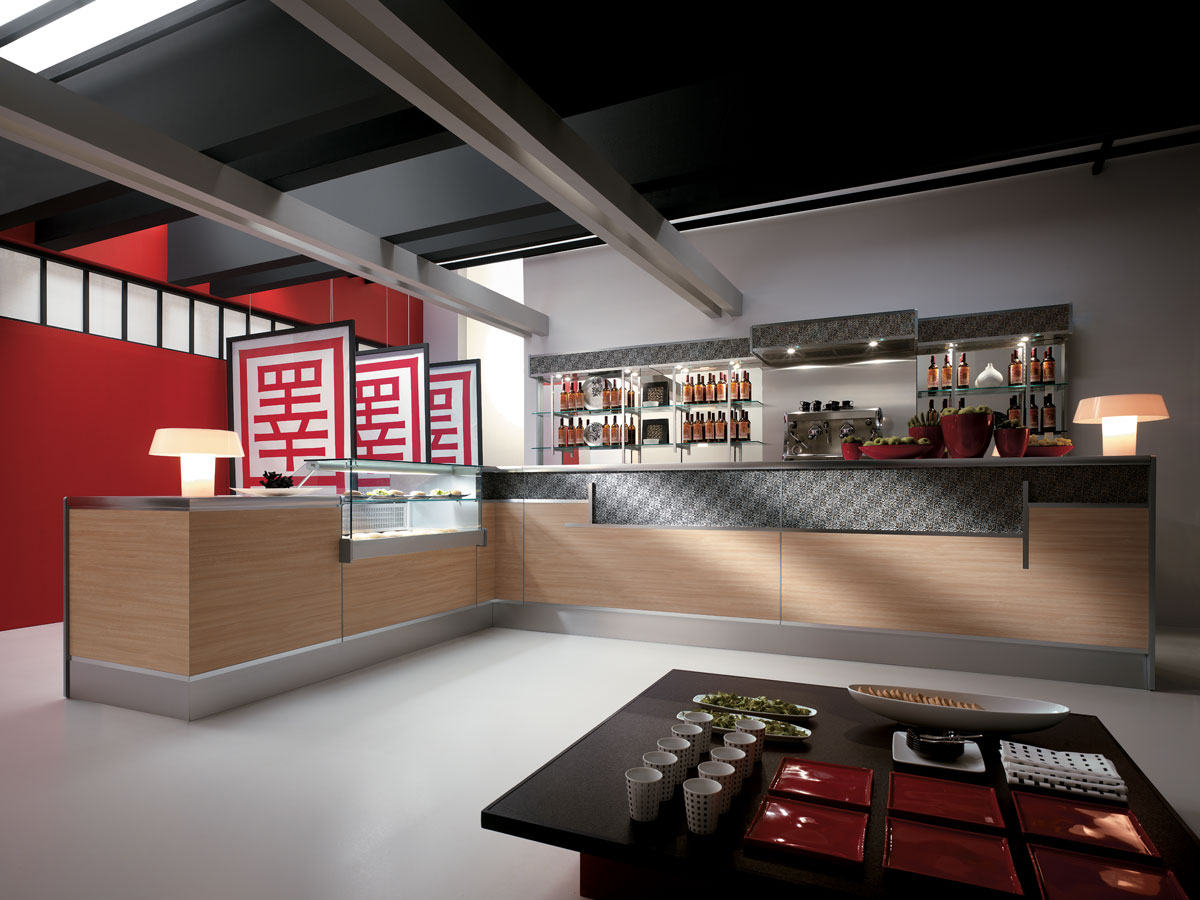 realizzazione sushi bar