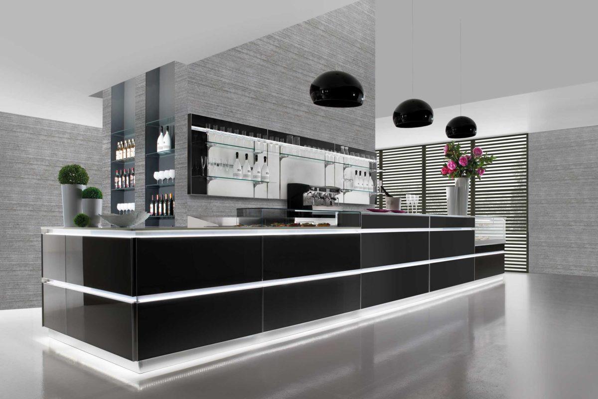 Banco bar matrix dal design moderno dbanchibar for Artic arredo bar