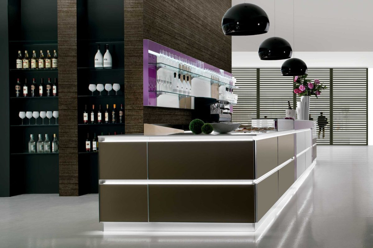 Banco bar matrix dal design moderno dbanchibar for Artic arredo bar