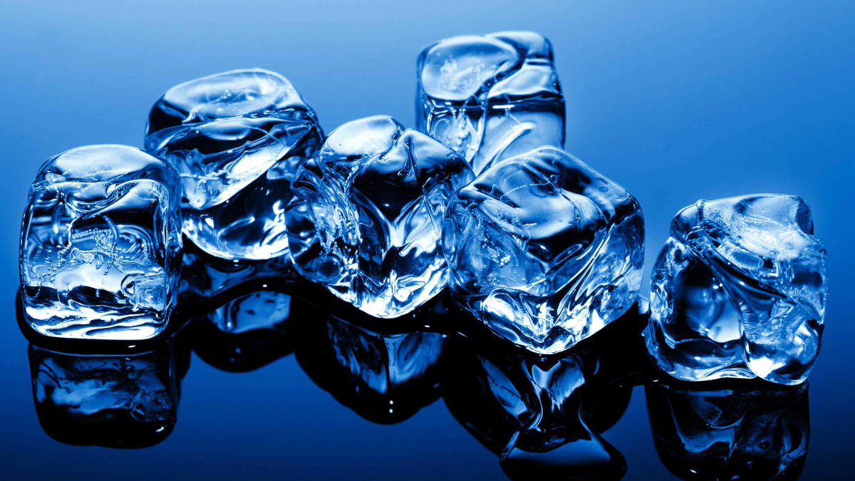 ghiaccio per bar