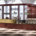 Banco bar Epoque Wood
