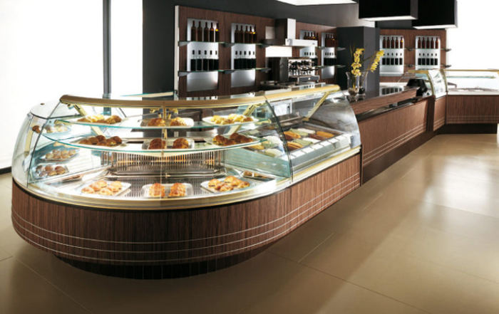 Vterina serie 900 per: pasticceria, gelateria, pralineria, gastronomia