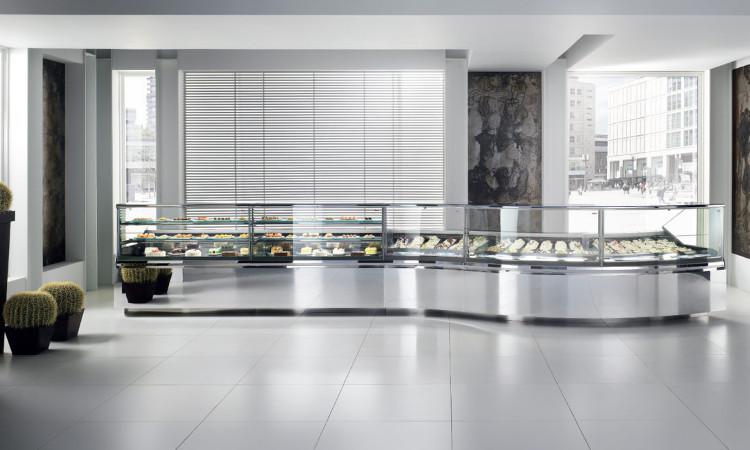 Vetrina per pasticceria, gelateria e gastronomia Vertigo