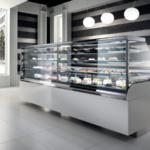 Vetrina per pasticceria, gelateria e gastronomia serie Vertigo