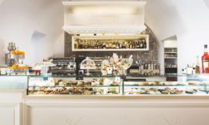 Vetrina pasticceria, gelateria modello Roma