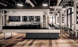 Be-like, banco bar per caffetterie, pasticcerie e bistrot