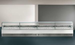 Twin, vetrina pasticceria con motore interno o esterno